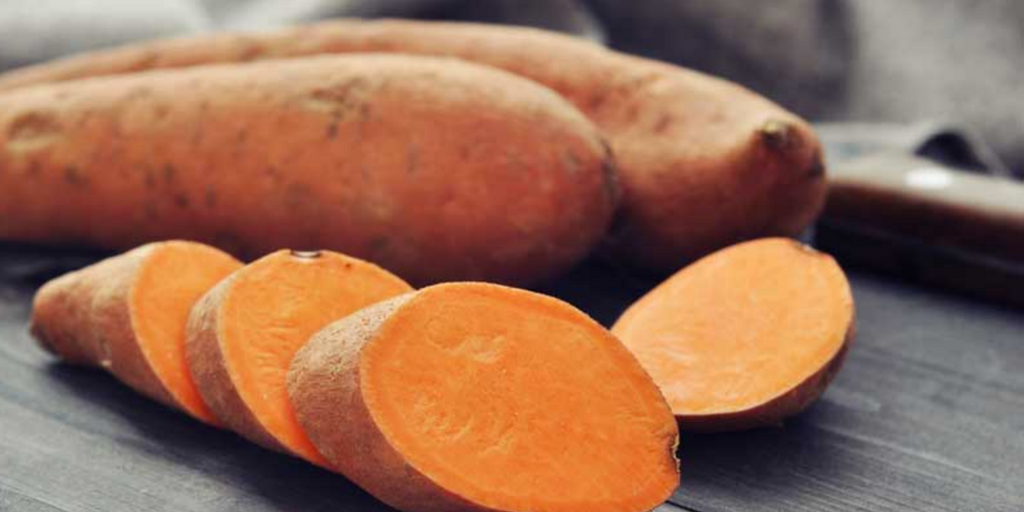 orange sweet potatoe