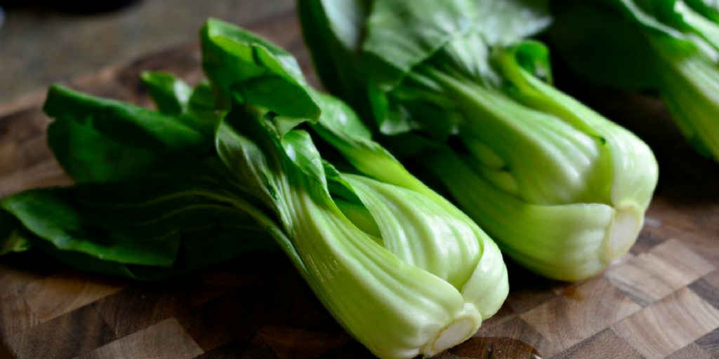 3 bok choy vegetables