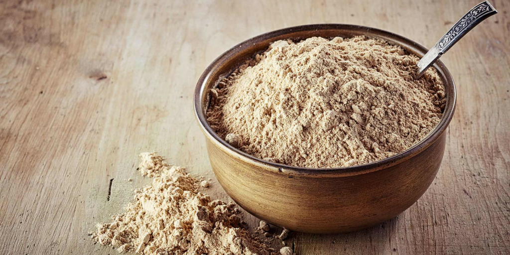 maca powder in a wooden traditional cup is Incas libido secret